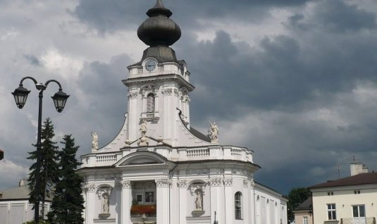 Wadowice - the church of Pope John Paul II
